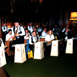 The band playing back in 1989